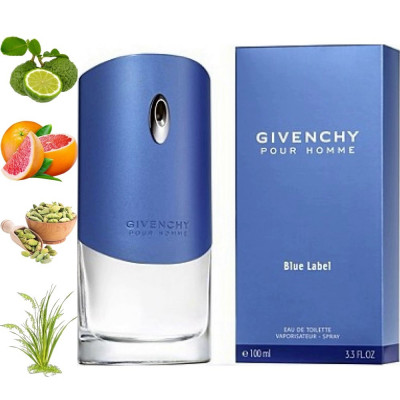 Givenchy Blue label, Givenchy парфумерна композиція