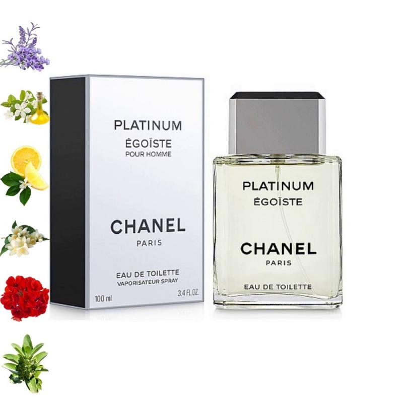 Platinum Égoïste, Chanel парфюмерная композиция
