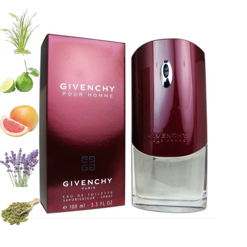 Givenchy Pour homme, Givenchy парфюмерная композиция