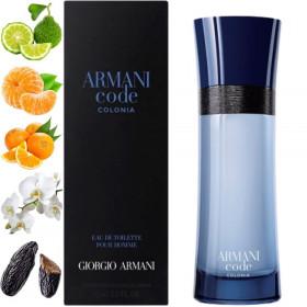 Armani Code Colonia, Giorgio Armani парфумерна композиція