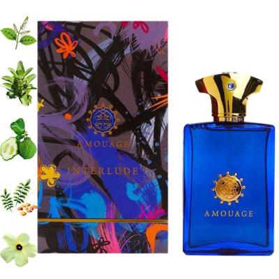 Interlude Man, Amouage парфумерна композиція