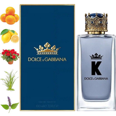 K By Dolce and Gabbana, Dolce and Gabbana парфумерна композиція