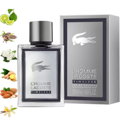 L`Homme Timeless, Lacoste парфумерна композиція