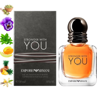 Stronger With You, Emporio Armani парфумерна композиция