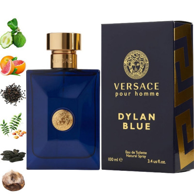 Versace Dylan Blue pour homme, Versace парфумерна композиція