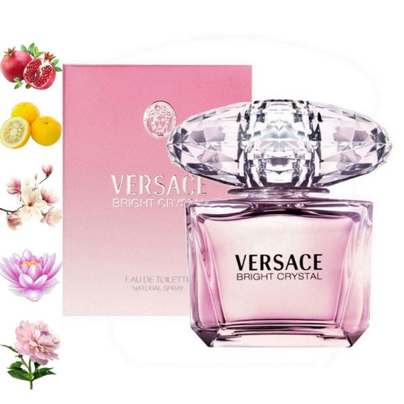 Bright Crystal, Versacе  парфумерна композиція