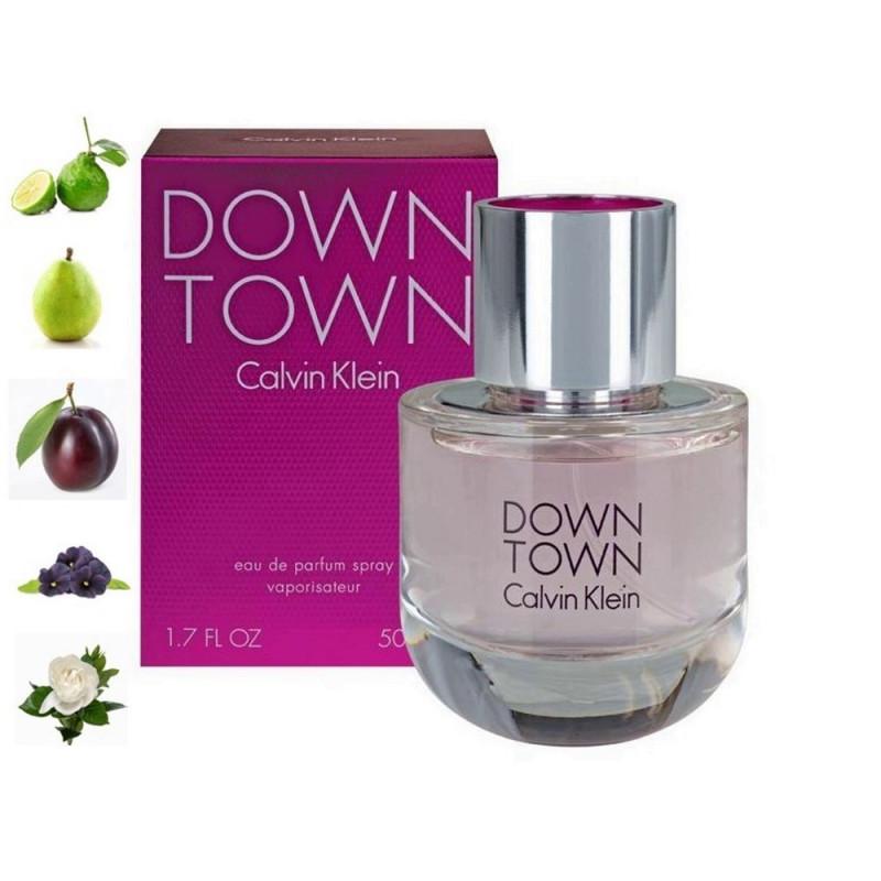 Downtown, Calvin Klein парфюмерная композиция
