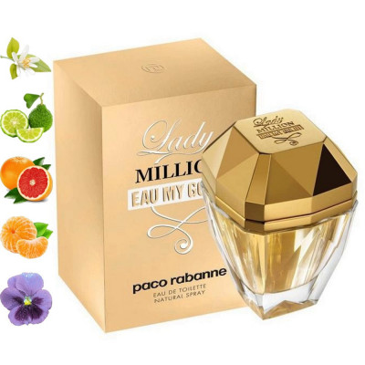 Lady Million Eau My Gold, Paco Rabanne парфумерна композиція