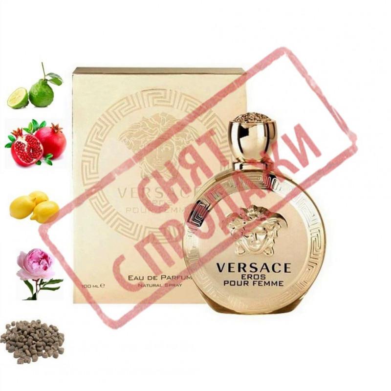 Eros pour Femme, Versace парфумерна композиція