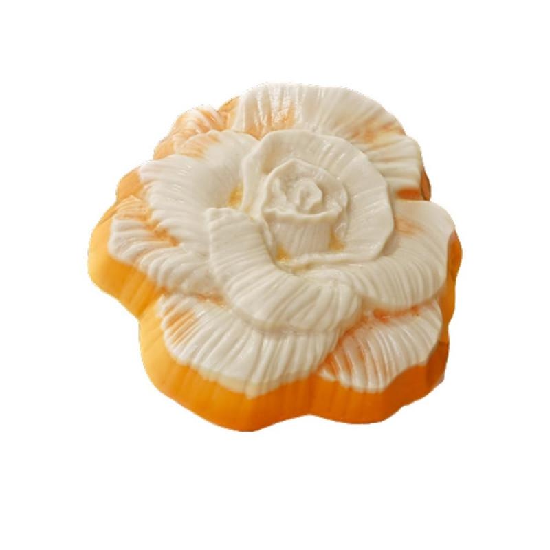 Форма для мыла Роза фактурная