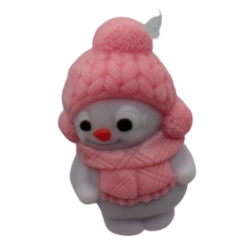 Форма для мыла Снеговик девочка