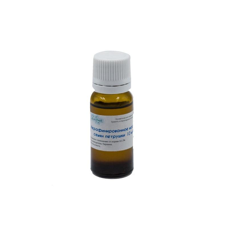 Нерафинированное масло семян петрушки