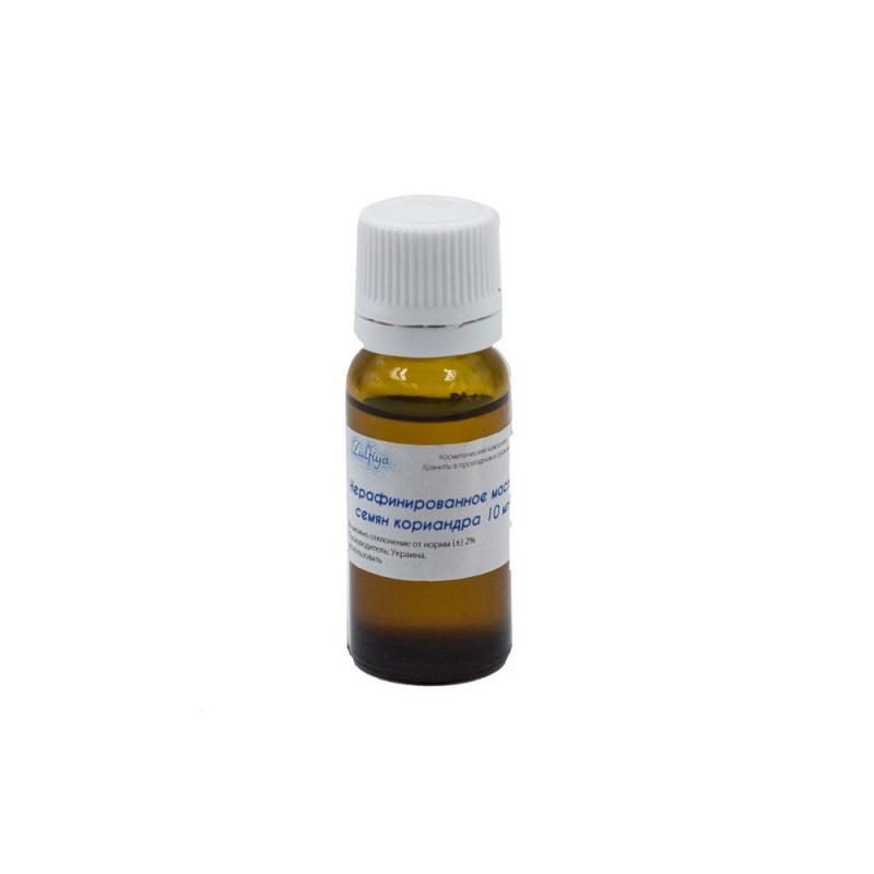 Нерафинированное масло семян кориандра