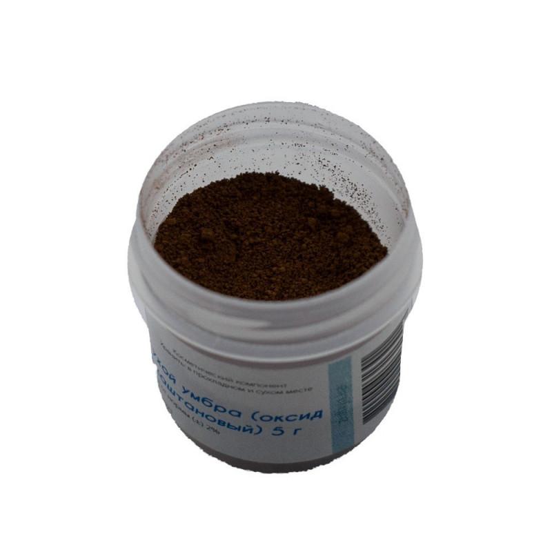 Пигмент сухой умбра (оксид железа каштановый)