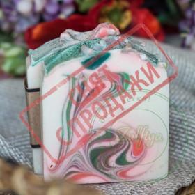 СНЯТ С ПРОДАЖИ Натуральное мыло Цветочный СПА
