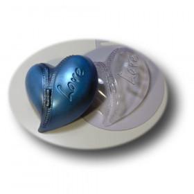 Форма для мила Серце на блискавці