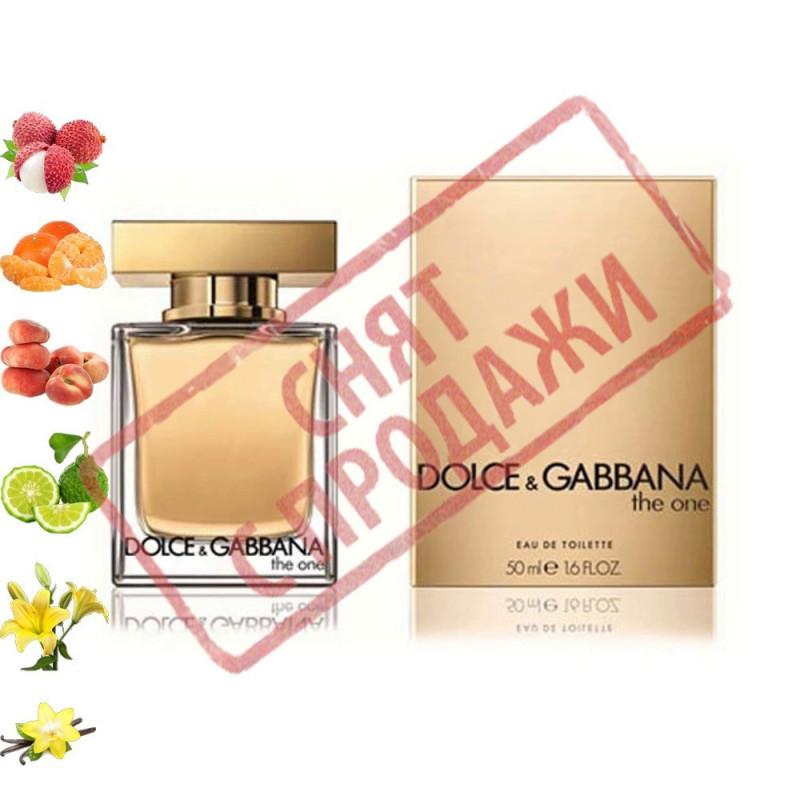The One, Dolce Gabbana парфюмерная композиция