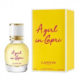 A Girl In Capri, Lanvin парфюмерная композиция