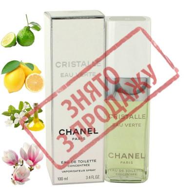 СНЯТО С ПРОДАЖИ Cristalle eau verte, Chanel парфюмерная композиция