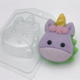 Форма для мыла Единорог мультяшный