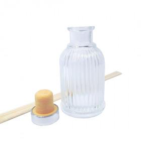 Комплект флакон для аромадіффузора Юнона 100 мл з ротанговими паличками 5 шт