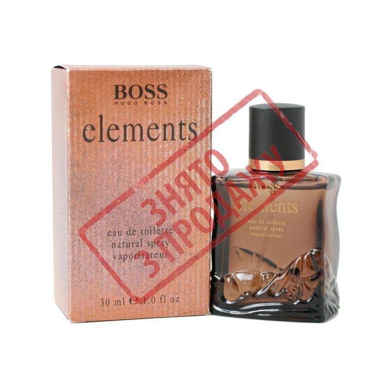Elements, Hugo Boss парфюмерная композиция