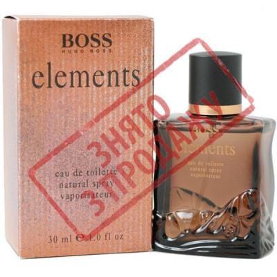 СНЯТ С ПРОДАЖИ Elements, Hugo Boss парфюмерная композиция