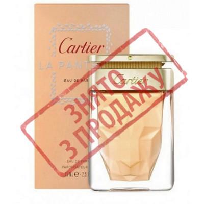 СНЯТ С ПРОДАЖИ La panthere, Cartier парфюмерная композиция