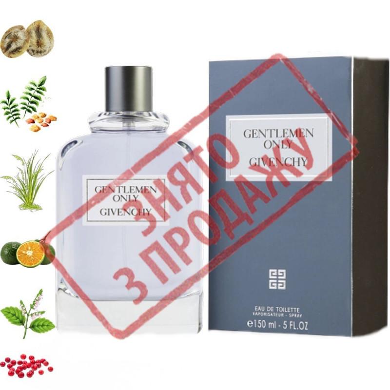 Gentlemen Only, Givenchy парфюмерная композиция