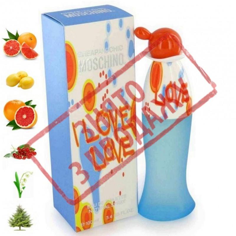 I Love Love, Moschino парфумерна композиція
