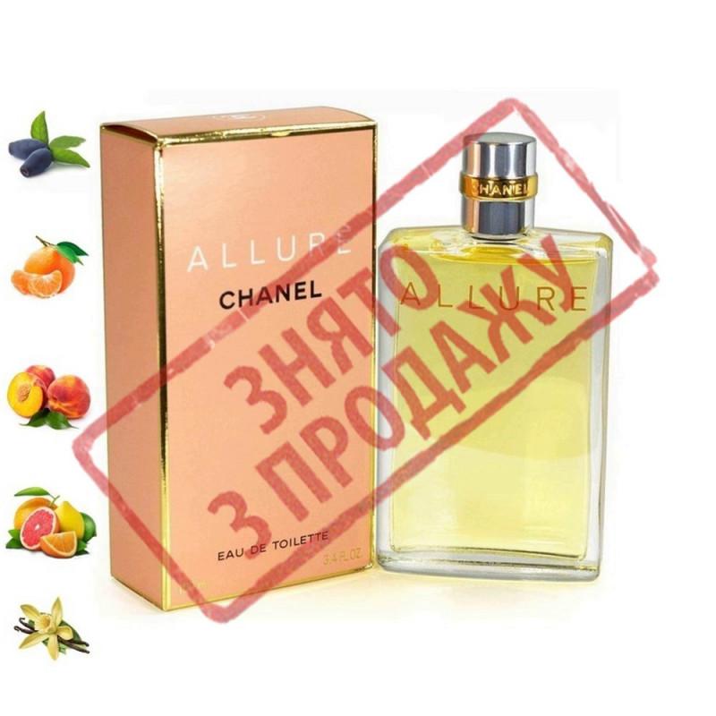 Allure, Chanel парфюмерная композиция