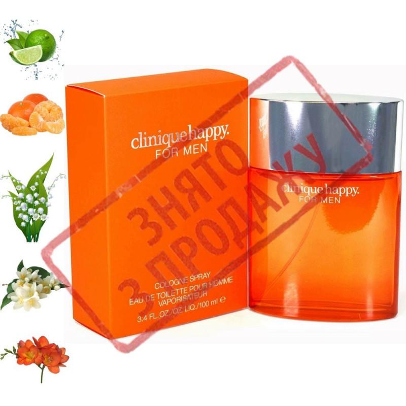 Happy For Men, Clinique парфумерна композиція
